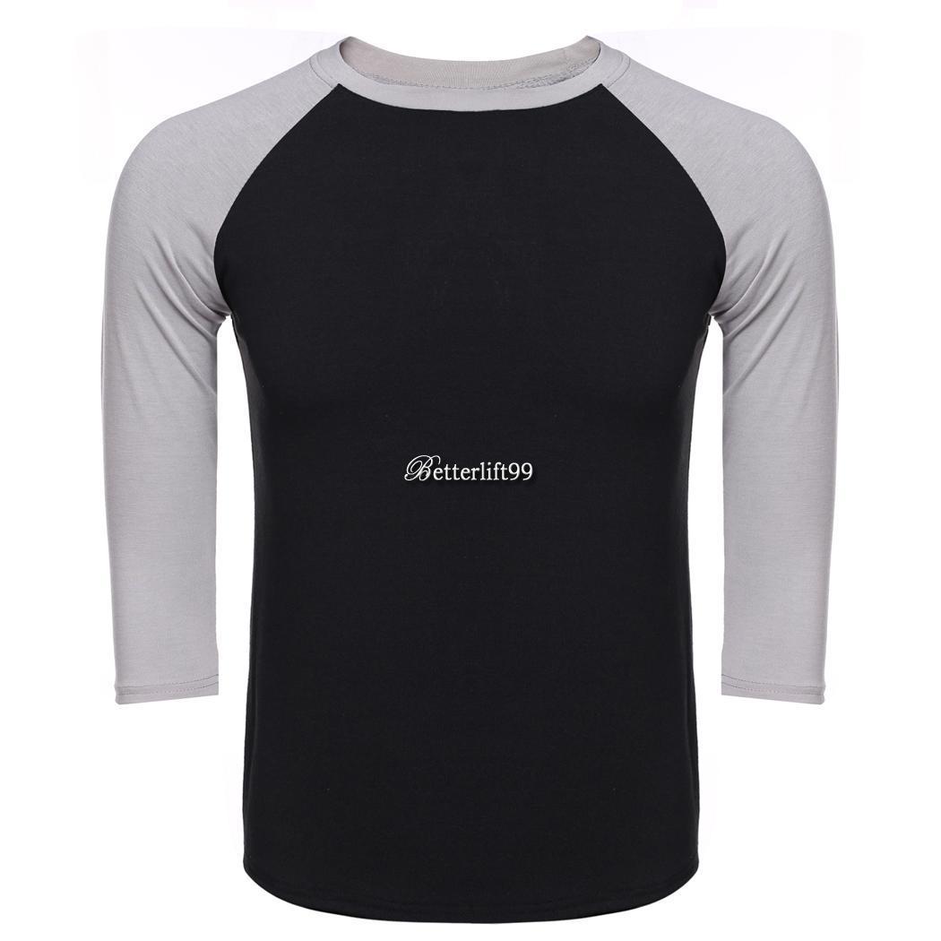 3 4 sleeve plain t shirt lot baseball tee raglan jersey for 3 4 sleeve shirt template